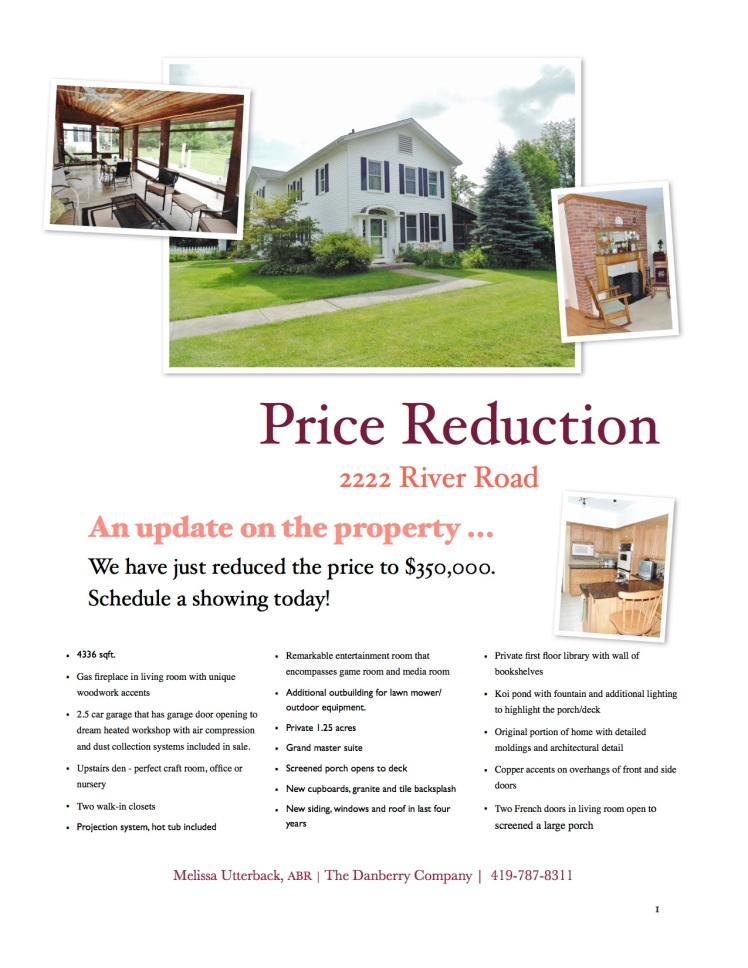 price reduction 350